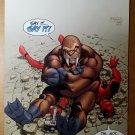 Fear Itself Deadpool 3 Marvel Comics Poster by Ryan Stegman