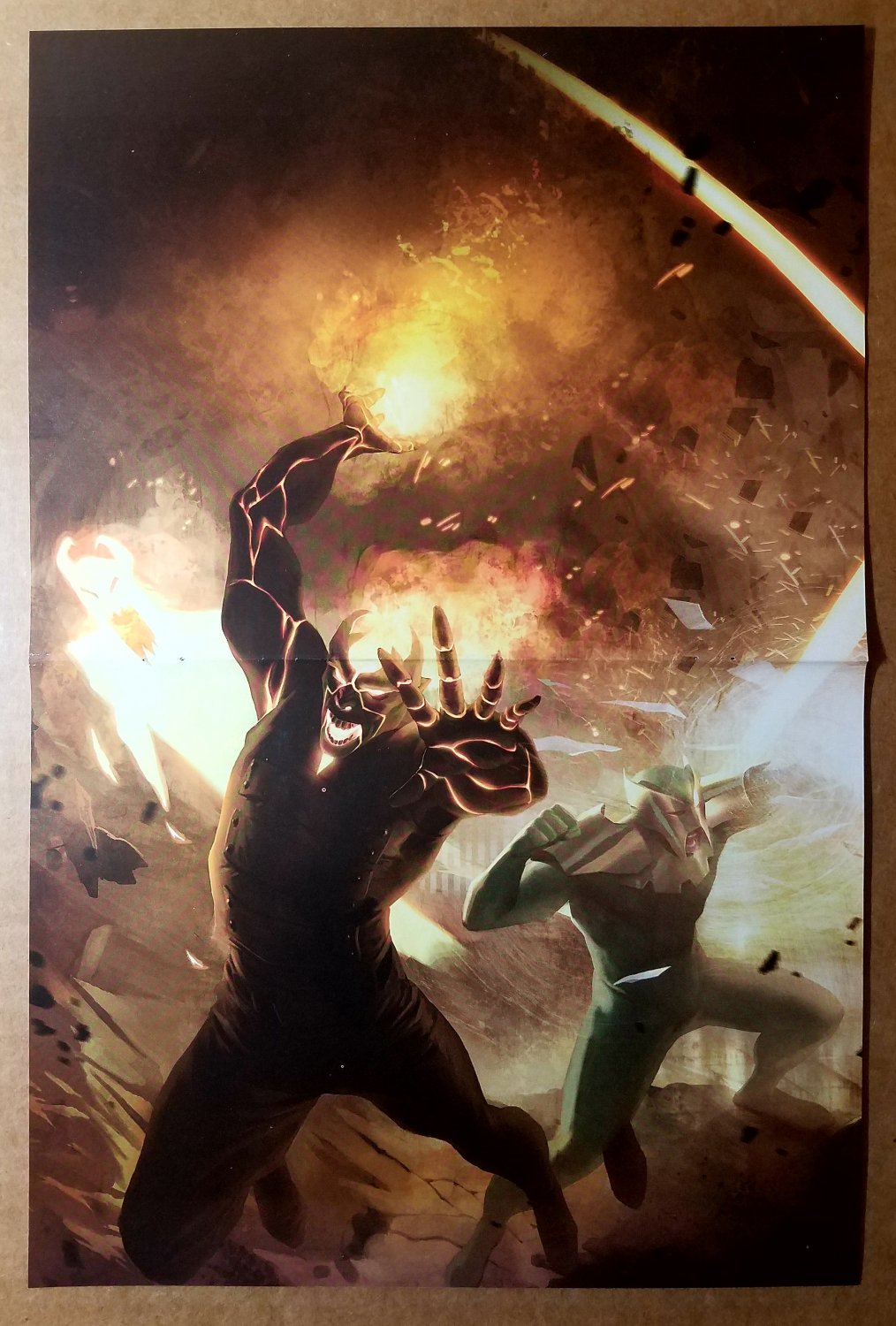 Fear Itself Home Front 2 Marvel Comics Poster by Marko Djurdjevic