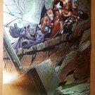 Fear Itself Promotional Art Iron Man Marvel Comics Poster by Salvador Larroca