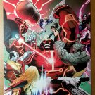 Uncanny X-Men 541 Colossus Iceman Kitty Pryde Psylocke Marvel Poster Greg Land