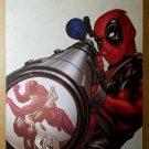 Deadpool Punisher Daredevil Sniper Scope Marvel Comics Poster by Mike McKone