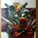 Cable Deadpool Marvel Comics Poster by Patrick Zircher