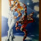 Dazzler Deadpool Continuity Conundrum Marvel Comic Poster by Alvin Lee