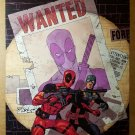 Deadpool  Wanted Marvel Comics Poster by Jason Pearson