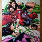 Deadpool B.A.D. Girls Marvel Comics Poster by Patrick Zircher