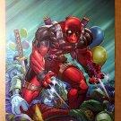 Deadpool Clowns Marvel Comics Poster by Patrick Zircher