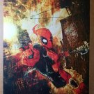 Deadpool Marvel Comic Poster by Skottie Young