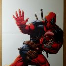 X-Men Deadpool playing Football Marvel Comics Poster by Ed McGuinness
