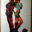 Deadpool with Babe Marvel Comics Poster by Arthur Suydam