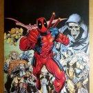 Deadpool Wolverine Marvel Comics Poster by Arthur Adams