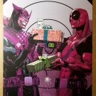 Hawkeye Deadpool Gifts Marvel Comics Poster by Jason Pearson