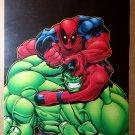 Hulk Deadpool Marvel Comics Poster by Ed McGuinness