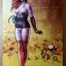 Dawn Tall Leaves Sirius Comics Poster by Joseph Michael Linsner
