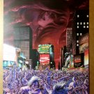 Dawn Times Square Sirius Comics Poster by Joseph Michael Linsner