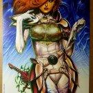Dawn Look Sharp Sirius Comics Poster by Joseph Michael Linsner