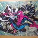Amazing Spider Man Vs Venom Marvel Comics Poster by Phil Jimenez