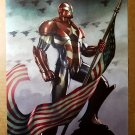 Avengers Iron Man Patriot American Flag Marvel Comics Poster by Adi Granov