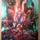 Dark Avengers Iron Man Patriot X-Men Marvel Comics Poster by Marc Silvestri