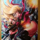 Ms Marvel Vs Dark Avengers Ms Marvel Marvel Comics Poster by Sana Takeda