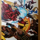 Avengers Captain America Wolverine Ms Marvel Comics Poster by Stuart Immonen
