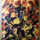Dark Avengers Hawkeye Ares Ms Marvel Iron Man Marvel Poster by Mike Deodato Jr