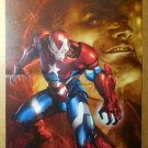 Dark Avengers Iron Man Patriot Marvel Comics Poster by Marko Djurdjevic