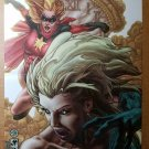 Dark Avengers Ms Marvel Emma Frost Marvel Comics Poster by Simone Bianchi