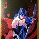 Avengers Hawkeye Vs Bullseye Daredevil Marvel Comics Poster by Daniel Acuna