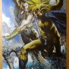 Avengers Namor Sub Mariner Vs The Sentry Marvel Comics Poster by Simone Bianchi