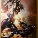 Dark Avengers Ares Vs Nick Fury Marvel Comics Poster by Mike Deodato