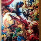 Civil War Marvel Universe Captain American Iron Man Comics Poster Michael Turner