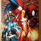 Civil War 2 Variant Avengers Spider-Man Iron Man Marvel Poster by Michael Turner
