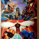 Civil War Marvel Universe by John Watson X-Men by Juan Doe Comic Poster