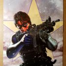 Captain America Bucky Winter Soldier Marvel Poster by Steve Epting
