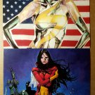 Ms Marvel Poster by David Mack New Avengers 23 Spider-Woman by Olivier Coipel