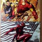 New Avengers 25 Iron Man by Jim Cheung IronMan 13 by Adi Granov Poster