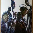 Avengers Illuminati Dr Strange Namor Marvel Comic Poster by Gabriele Dell'Otto