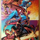 Spider-Man Iron Man Captain America Marvel Comic Poster by Ron Garney