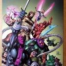 Thunderbolts 104 Marvel Comic Poster by Tom Grummett