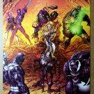 Thunderbolts 110 Venom Marvel Comic Poster by Mike Deodato Jr