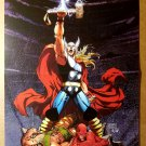 Civil War Avengers Thor Hercules Daredevil Wasp Marvel Poster by Michael Turner