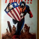 Captain America Join the Battle Victory Marvel Comics Poster by Steve Epting