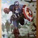 Captain America Marvel Comics Poster by Daniel Acuna