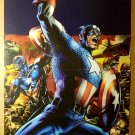 Captain America Bucky Reborn Marvel Comics Poster by Bryan Hitch