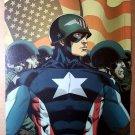 Captain America Fighting Avenger Marvel Comics Poster by Barry Kitson
