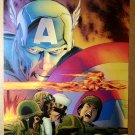 Captain America Forever Allies Marvel Comics Poster by Lee Weeks