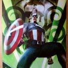 Captain America Marvel Comics Poster by Adi Granov