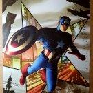 Captain America Marvel Comics Poster by Steve McNiven
