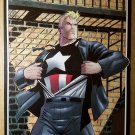 Captain America Operation Rebirth Marvel Comics Poster by Ron Garney