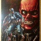 Captain America Red Skull Marvel Comics Poster by Lee Bermejo